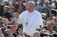 Папа Франциск в Вербное воскресенье призвал не поддаваться отчаянию