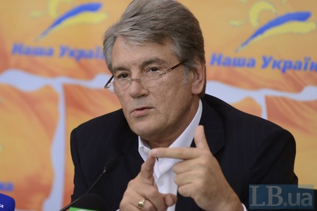 С началом избирательной кампании Ющенко не устает перечислять свои достижения