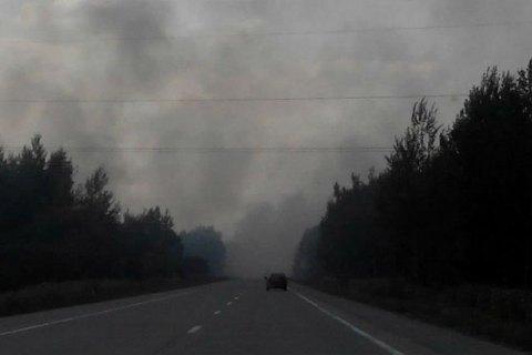 Вслед на киевлянами на задымленность жалуются жители Житомира
