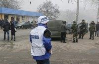 СММ ОБСЄ зафіксувала військову техніку поблизу лінії зіткнення на Донбасі