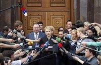 Пшонка ответил Тимошенко молчанием