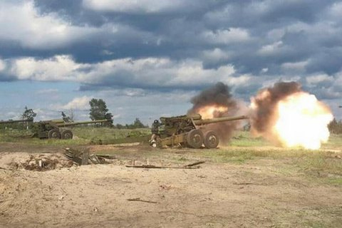 НаДонбассе боевики использовали тяжелое вооружение— штаб АТО