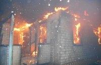 В пожарах на Рождество погибли четыре человека