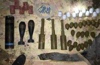 СБУ обнаружила тайник с боеприпасами в Североденецке