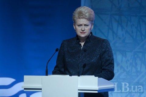 «Демонстрация силы против Европы»: президент Литвы охарактеризовала переброску «Искандеров» под Калининград