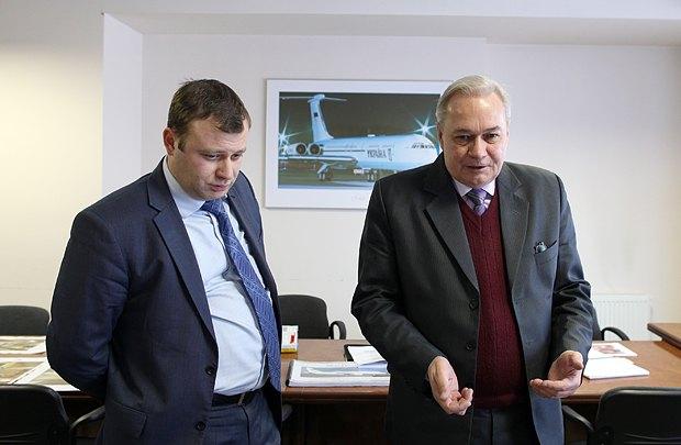 Сергей Губань(справа)