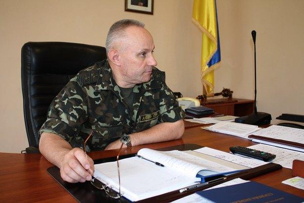 Генерал Руслан Хомчак