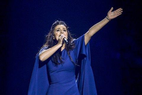 Джамала стала победительницей'Евровидения