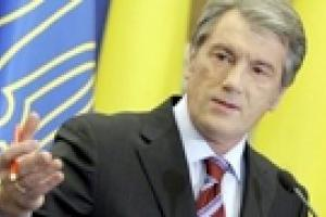 Ющенко просит милицию во время выборов быть вне политики
