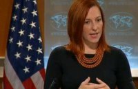 США поддержали борьбу украинских властей против террористов
