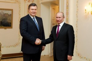 Янукович приехал на встречу к Путину