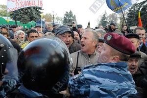 Чернобыльцы берут Раду штурмом
