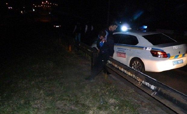 ВКиеве милиция за пару минут поймала мужчину, ограбившего АЗС