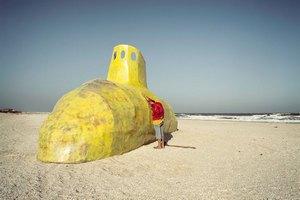 На берегу Азовского моря прошел симпозиум современного искусства
