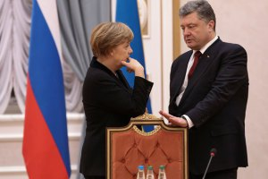 Порошенко и Меркель выступили за увеличение миссии ОБСЕ на Донбассе