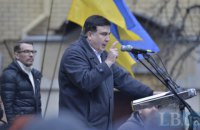 Саакашвили заявил, что его амбиции выше должности президента Украины