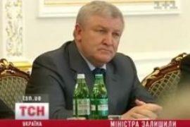 Янукович не уволил Ежеля