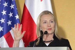 Хиллари Клинтон поздравила украинцев с Днем независимости