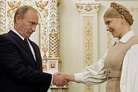 Тимошенко лично поздравит Путина с 57-летием