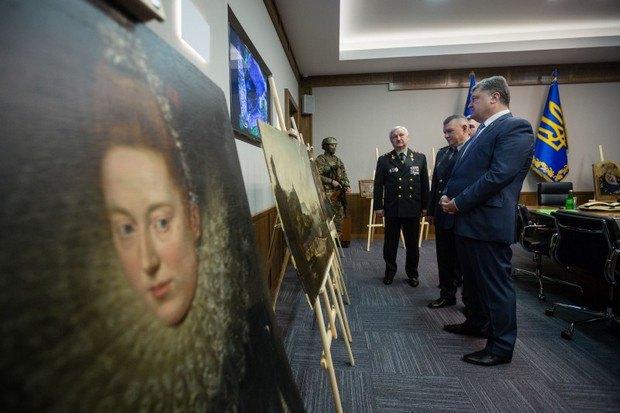 В Одеській області знайшли вкрадені картини італійських майстрів (фото)