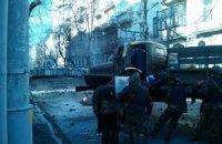 """Протестующие отбили атаку """"Беркута"""" на Институтской"""