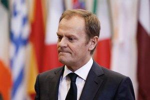 Туск консультируется с лидерами ЕС из-за нарушения перемирия на Донбассе