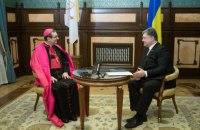 Порошенко принял верительные грамоты от послов четырех стран