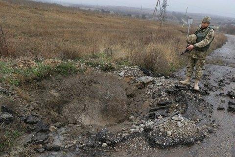 Боевики обстреляли позиции морпехов под Широкино из минометов