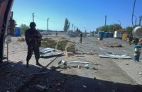 """Украина возобновила контроль над погранпунктом """"Должанский"""" (обновлено, добавлены фото)"""
