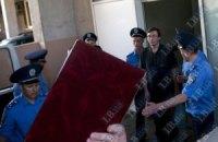 Милиция не пускает журналистов на суд над Луценко