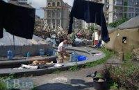 На Майдане заявили, что власть подбрасывает им алкоголиков