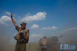 СНБО: бои идут у Станицы-Луганской, Ясиноватой, Ждановки и Нижней Крынки