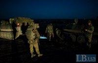 Боевики ночью 15 раз обстреляли позиции военных