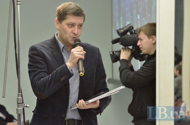 Петр Андрусечко - модератор панели, главный редактор <<Украинского журнала>> (Польша), лауреат премии журналист года в Польше в 2014 году