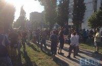 Полиция взяла под охрану памятник Щорсу в Киеве