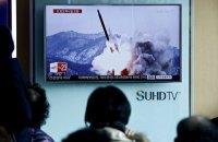КНДР запустила вторую за сутки баллистическую ракету