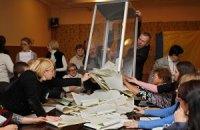 В Виннице кандидат от власти продолжает мешать подсчету голосов