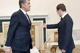 Ющенко не встретился с Медведевым из-за расхождений в мировоззрения