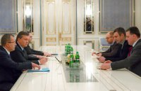 Лидеры оппозиции приехали к Януковичу