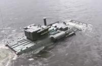"Украинский БТР ""Буцефал"" испытали на воде"