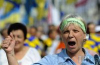 Оппозиция пожаловалась на избиение милицией своих агитаторов