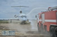 """В аэропорту """"Борисполь"""" прошли масштабные учения спасателей"""