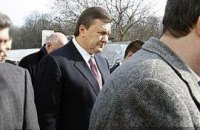 Януковича защитили от наркомана с пистолетом