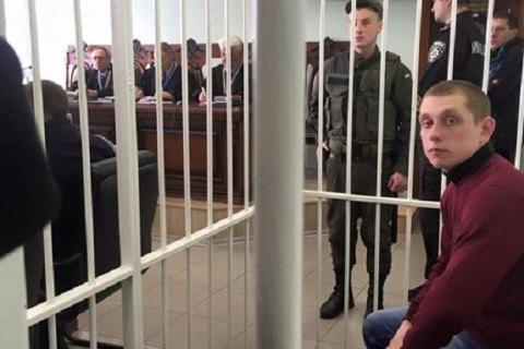 Суд отпустил копа Олейника, застрелившего пассажира БМВ, под личное обязательство