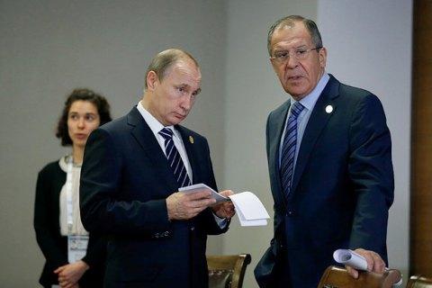 МИДРФ предложил Путину выслать 35 американских дипломатов вответ насанкции