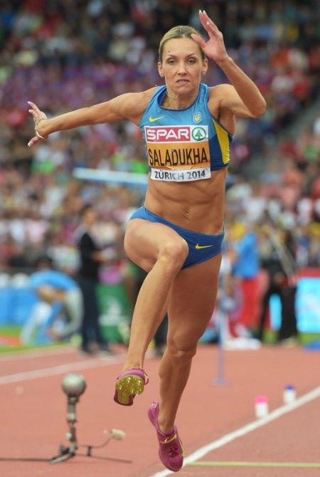 Ольга Саладуха третий раз в своей карьере стала чемпионкой Европы!