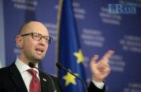 Яценюк встретился с советниками глав Германии и Франции