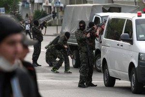 В райцентре Луганской области террористы напали на избирательные участки