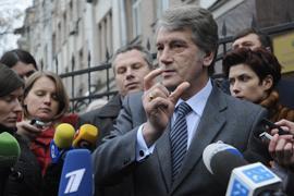 Ющенко готов предоставить ГПУ кровь на своих условиях