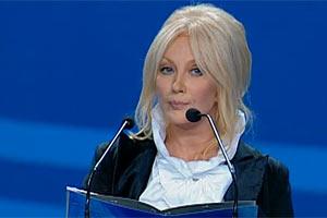 Повалий поблагодарила Януковича и Азарова за поддержку культуры